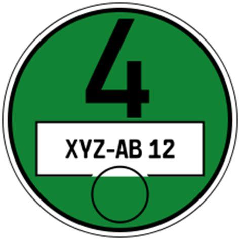 Sticker Drucken Karlsruhe by Verordnung Zur Kennzeichnung Der Kraftfahrzeuge Mit