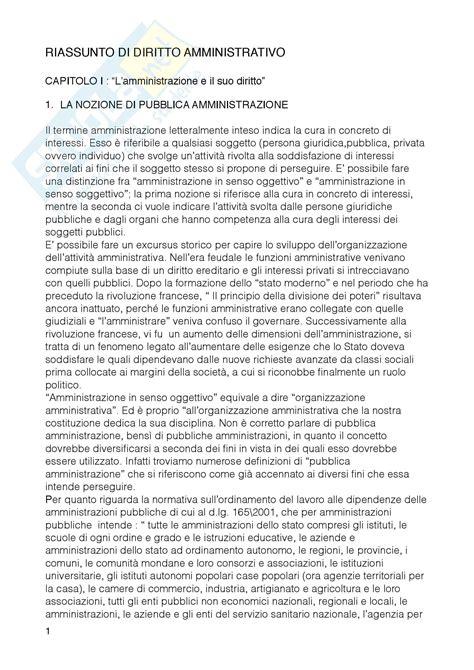 dispensa di diritto amministrativo nozioni principali appunti di diritto amministrativo