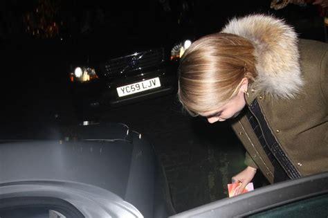 Fan Jumps Into Car by Model Cara Delevingne Jumps Into Random Fan S Car