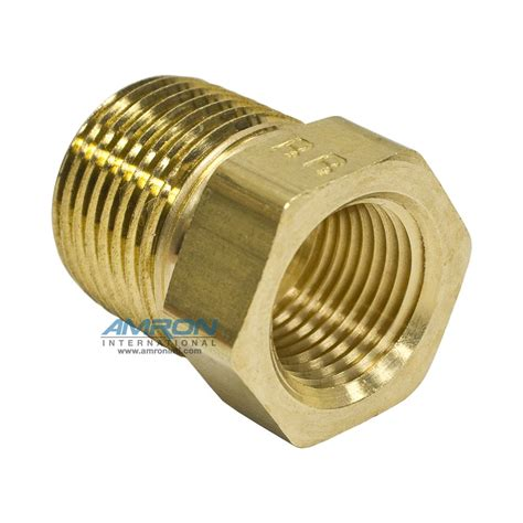 Reducer Tembaga 2 5 8 Inch X 5 8 Inch ptr pipe thread reducer 1 2 x 3 8 inch npt brass ptr b 1 2x3 8