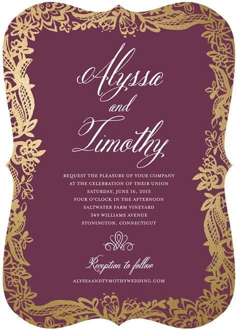 A Wedding Invitation by Wedding Invitations Wedding Stationery
