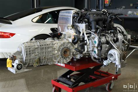 twin turbo porsche porsche 997 with a twin turbo gt3 engine engine swap depot