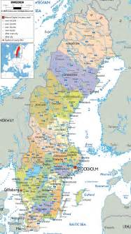 map with all cities and towns maps of sweden detailed map of sweden in