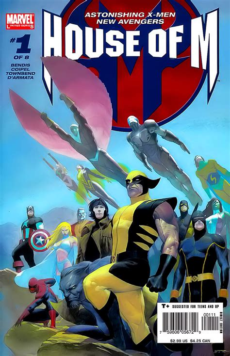 house of m 01 cover art by olivier coipel rese 241 a house of m de brian michael bendis y olivier coipel manga anime y c 243 mics 3djuegos