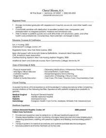 Exle Of A Combination Resume by Certified Nursing Assistant S 3 Different Resume Types For Nursing