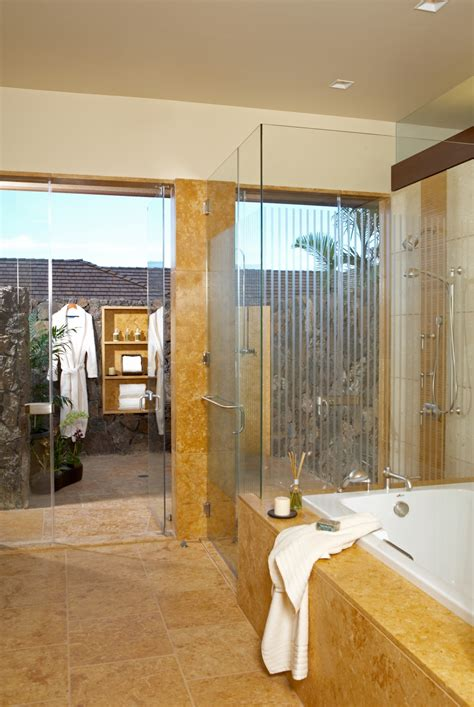 luxury master bathroom designs luxury dream home design at hualalai by ownby design