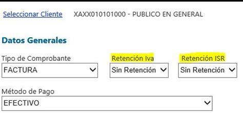 retenciones iva 2016 argentina retenciones de isr e iva en versi 243 n facturas web todocbb