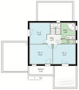 maison contemporaine 2 d 233 du plan de