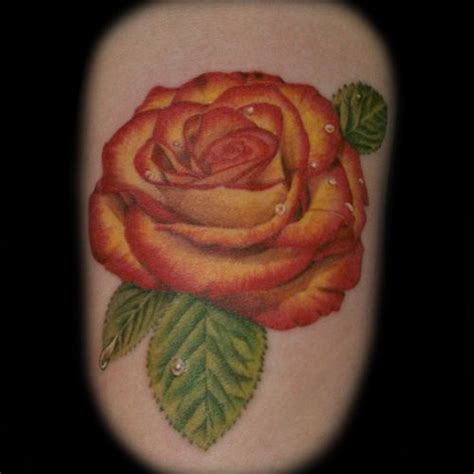 yellow rose tattoo ideas tattoos tattoos and roses on