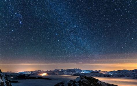 wallpaper for computer desktop background free download starry night sky high resolution wallpaper for