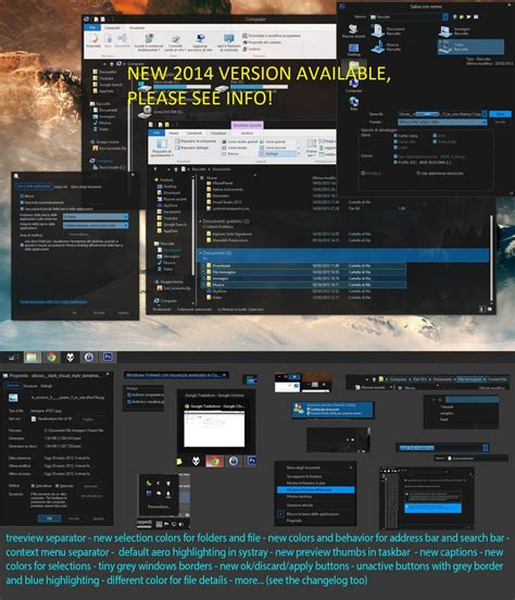 visual themes for windows 8 1 gray8mod dark visual style windows 8 1 upd 1 u20 by ezio