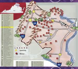 Virginia Wine Map by Fox Meadow Winery Right On Our Mountain Linden Va 540