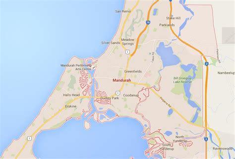 map  mandurah