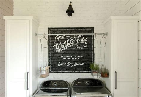 our farmhouse laundry room magnolia market