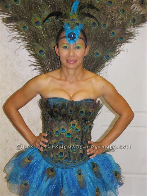 Handmade Peacock Costume - peacock costume