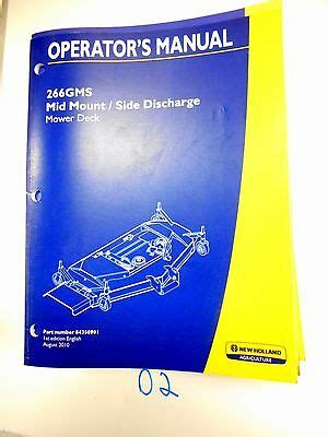 New Holland Mower Deck For Sale Tractor Parts And