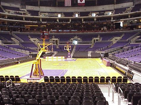 section 106 staples center 2 lakers vs milwaukee buckes 2 27 section 106 row l floor
