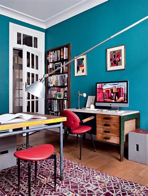 couleur mur bureau maison les couleurs qui favorisent la concentration et la