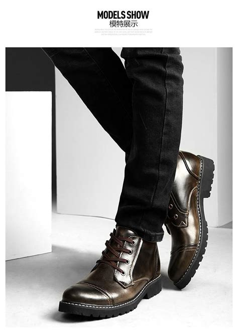 mens dress boots for winter classic dress boots leather oxfords shoes