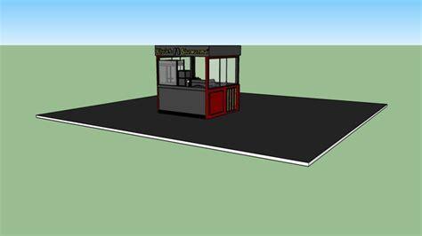 Food Kiosk   3D Warehouse