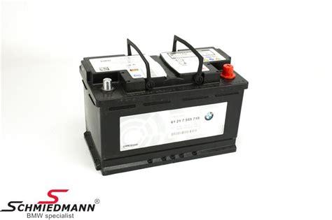 Bmw 1er E87 Agm Batterie by Bmw Mini Autobatterien Original Bmw Schmiedmann