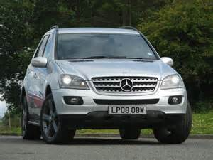 Used Mercedes Trucks For Sale In Uk Used Mercedes 2008 Diesel Class Ml320 Cdi Edition 4x4