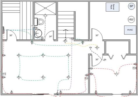 basement finish wiring diagram electrical diy chatroom