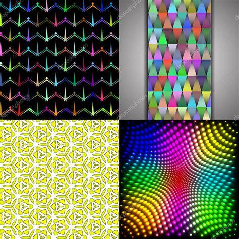 arcobaleno piastrelle set di astratta arcobaleno colorato piastrelle sfondo
