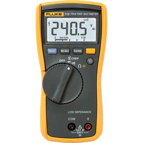 test capacitor with fluke meter fluke 113 true rms utility multimeter vchek minmax capacitor check transcat