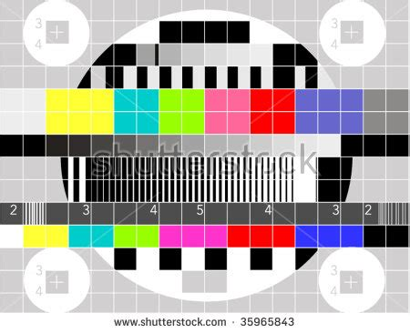 test pattern vector tv test pattern stock images royalty free images