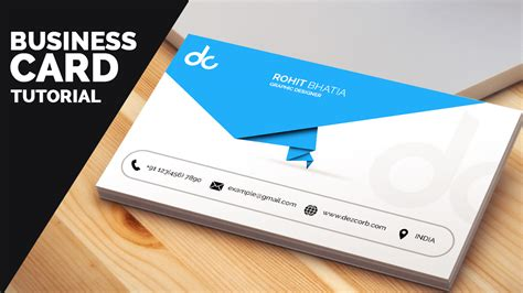 carding tutorial reddit business card design in photoshop cs6 tutorial learn