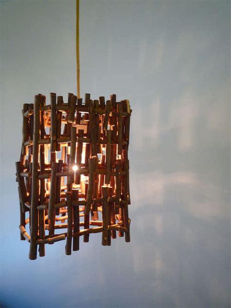 Handmade Hanging Lights - hanging twig l handmade light by the light store