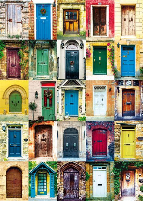 colorful doors jigsaw puzzle puzzlewarehouse com doors jigsaw puzzle puzzlewarehouse com