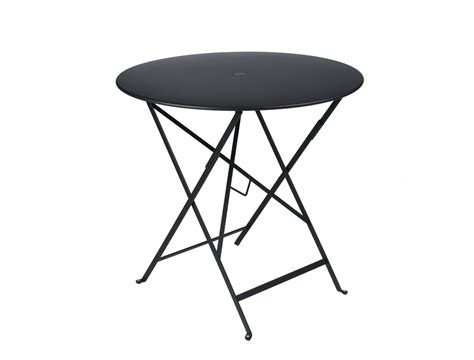 fermob bistro colourful designer metal folding table