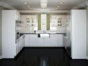 Americana Kitchen Island White - cocinas blancas y negras 50 ideas geniales a considerar