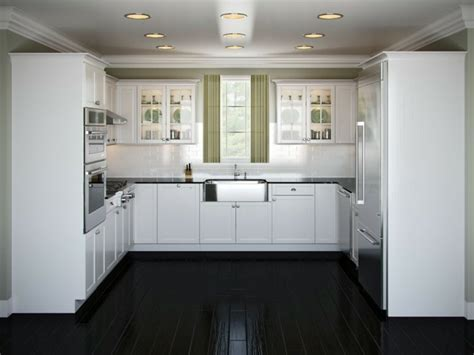 best colors for small kitchens u shaped kitchen design cocinas blancas y negras 50 ideas geniales a considerar