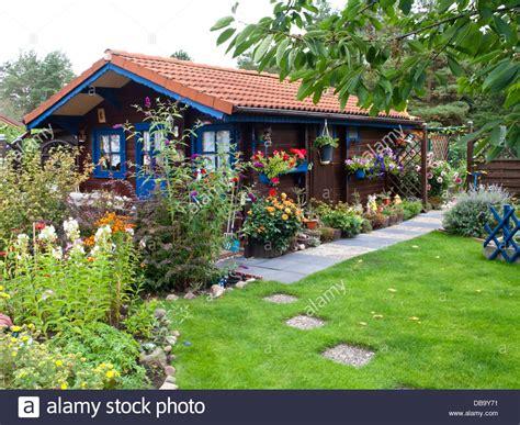 buy garden house wooden garden house in an allotment garden stock photo royalty free image 58611253
