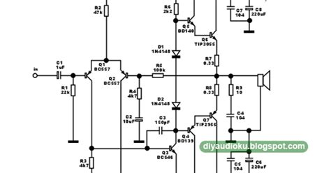 rangkaian lifier transistor jengkol rangkaian lifier transistor jengkol 28 images diy audio elektronika merakit lifier ocl