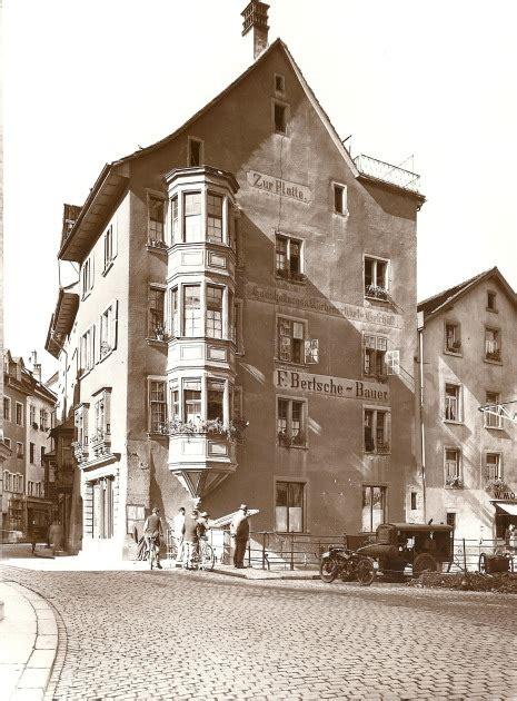 haus platte bachstrasse schaffhausen foto archiv