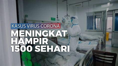 jumlah pasien terkena virus corona jadi