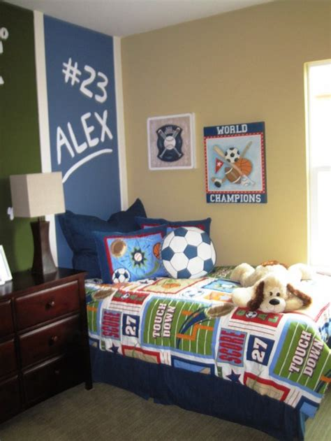 sports themed bedrooms for boys 15 awesome kids soccer bedrooms home design and interior