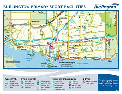 burlington map getting here tourism burlington tourism burlington