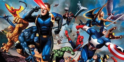 marvel universe marvel cinematic universe 15 fox and sony