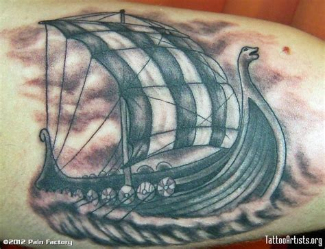 viking longboat tattoo 1000 images about viking tattoos on pinterest viking