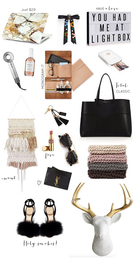 trendy gifts for her 2016 gift guide stylish gifts for her glitter inc glitter