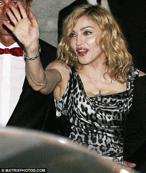 madonna arms is madonna losing the arms race singer reveals her bingo