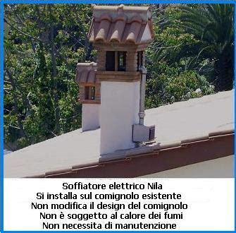 aumentare tiraggio camino esempio di installazione soffiatore elettrico nila