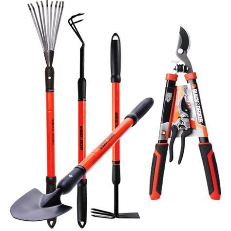 Black Decker Ultimate Garden Tool Set Set Of 6