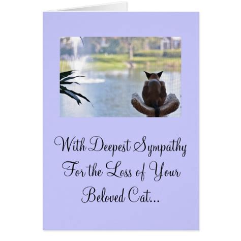 pet loss sympathy card template loss of pet cards images