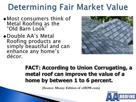 metal roofing and home buyers market
